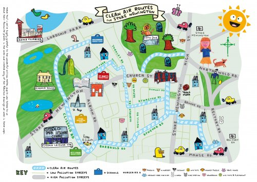 Kings College London Map.About The Project Clean Air For Kids